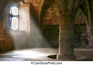 Arbroath Abbey 11 - Arbroath Abbey in Scotland, where the...