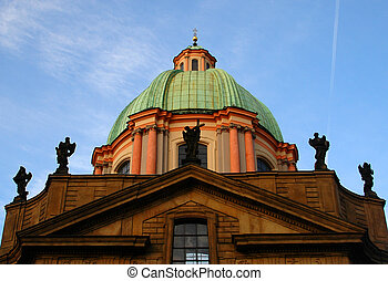 church - a church at the old city of prague