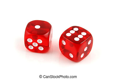 Seven up - 2 Dice close up- Seven Up