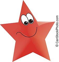 red star illustration