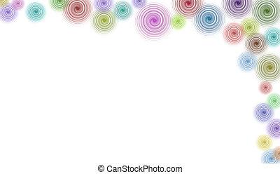 Border/Business Graphic - Right hand Border of Swirls -...
