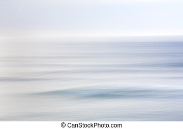 Sky and Ocean Abstract - Abstract photo of the sky and...