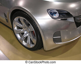 Concept Car Fender 1 - Concept Luxury Car Wheel Fender Head...