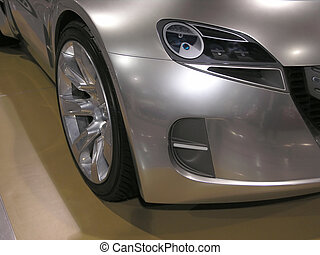 Concept Car Fender 2 - Concept Luxury Car Wheel Fender Head...