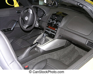 Luxury Sports Car Interior 2 - Luxury Sports car Interior...