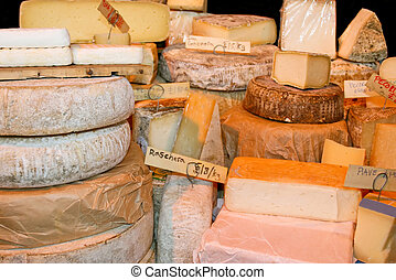 Cheese - Bunch of various type of Swiss cheeses