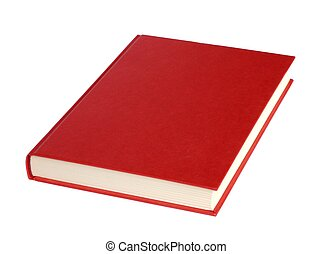 Book - Isolated red book