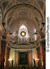 St Peter Church 2 - An interior view of St Peters church in...
