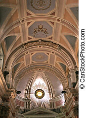 St Peter Church 3 - The ceiling of St Peters church in...