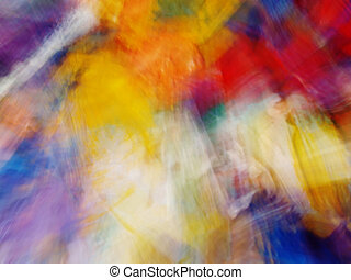multicolored blur abstraction