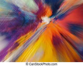 multicolored abstraction - multicolored motion abstraction