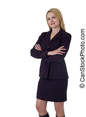 Confident professional woman - Attractive blonde Business...
