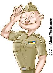 a, soldado
