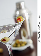 Vodka Martini Still Life - Vodka martini and cocktail...