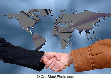 business deal, handshake - Handshake, business deal....