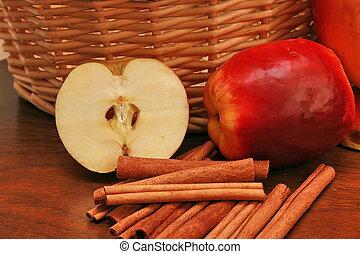 りんご, シナモン