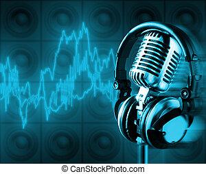 música, energia, (, Cortando, caminho, XXL)