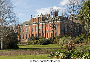 Kensington Palace - Beautiful Kensington Palace, in a garden...