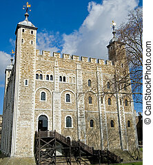 White Tower - The ancient White Tower, in the center of the...