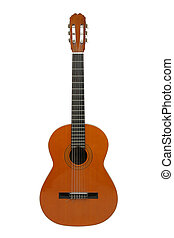 Acoustic guitar - Spanish or classical acoustic guitar,...