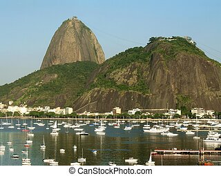 Sugar Loaf - 2 - Sugar Loaf Mountain, called Pão de...