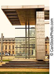 Paris #2 - The Monument of Peace in Paris, France, Champs de...