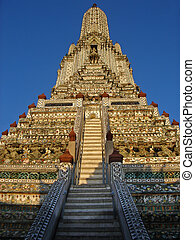 Temple - A Buddhist temple in Bangkok, Thailand.