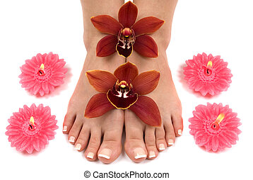 Orchids and Feet