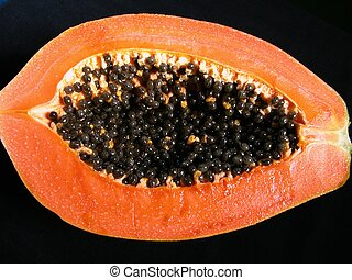 Papaya is a common tropical fruit affordable by all people...
