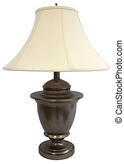 Brass Lamp  - Antique Brass Table Lamp