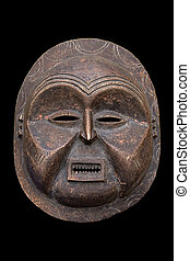 antique African mask - Handmade antique african mask,...