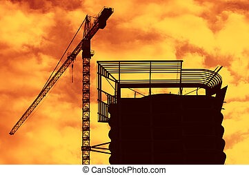 under construction - special warm photo toned fxbacklight...