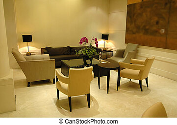 The lobby in hotel - The environment of lobby in a hotel