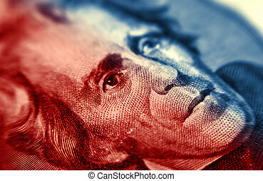 Jackson - Abstract Photo of ANdrew Jackson - Twenty Dollar...