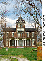 Historic Brick Home Circa 1800s - A typical two story brick...