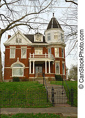 Historic Brick Home Circa 1900s - Historic Brick Home Circa...