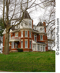 Historic Brick Home Circa early 1900s - A typical two story...