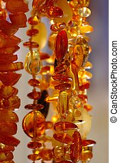 Amber Necklaces - Various amber necklaces