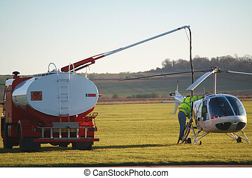 Helicopter Refuelling