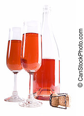 Red bubbly