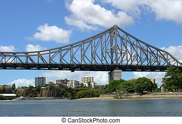 Bridge - The Brisbane River crossing bridge called the Story...