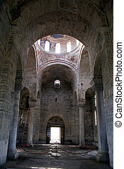 Inside cathedral  - Saint Sophia in Trabzon, Turkey