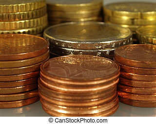 Euro currency - Packs of euro currency coins