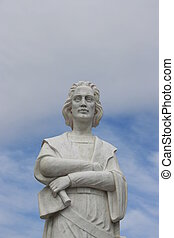 Columbus - A statue of Christopher Columbus.