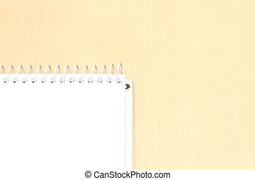 Business concepts - notebook - Spiral bound notebook on a...
