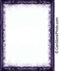 Grunge border and background - Computer designed grunge...