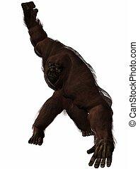 Bigfoot - 3D Render