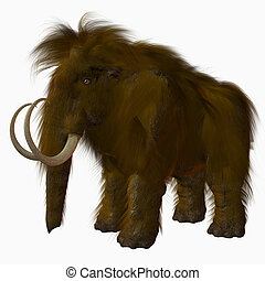 Woolly Mammoth - 3D Render