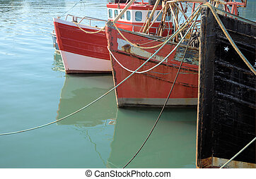 Howth Harbour 2 - Boats in the harbour