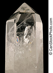 Quartz Crystal - Healing powers in alternative health. Light...